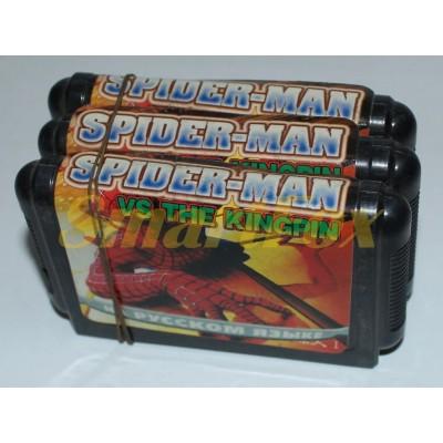Картридж 16-bit SPIDER-MAN