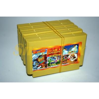 Картридж 8-bit 4в1 Tom and Jerry, Bubble,Snow bross,Down deep