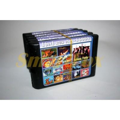 Картридж 16-bit Сборник игр на Sega 16 в 1 AA-16001