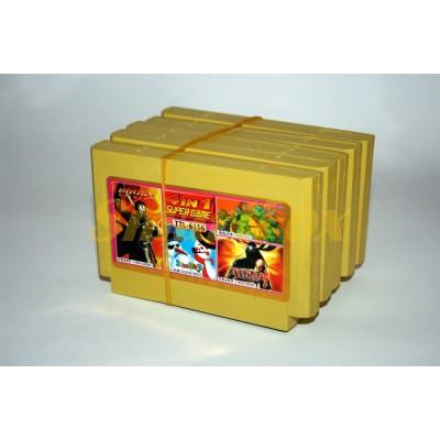 Картридж 8-bit Сборник игр 4 в 1 Ninja Gaidem 3, Snow Bross, Tureles 2, Ninja Gaidem2