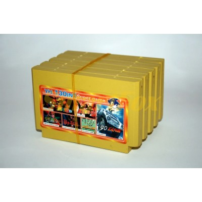 Картридж 8-bit Сборник YH 130in1 Mario, KungFu,Circus, Kage Legendary, Galaxian, Tank