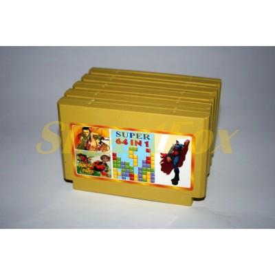 Картридж 8-bit Сборник игр 64в1