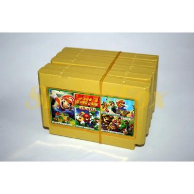 Картридж 8-bit 4 в 1 Super Mario, Mario, Mario 16, Mario Rabbit