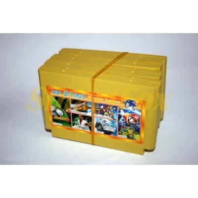 Картридж 8-bit Сборник игр 21in1