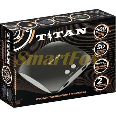 Игровая приставка 8-bit + 16-bit TITAN 3 +500 игр в памяти