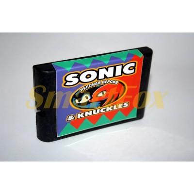 Картридж 16-bit Sonic & Knuckles