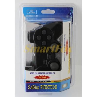 Игровой манипулятор (джойстик) PS3 беспроводной 706 2.4G