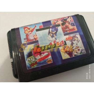 Картридж 16-bit Сборник игр Sega сборник SB-5304