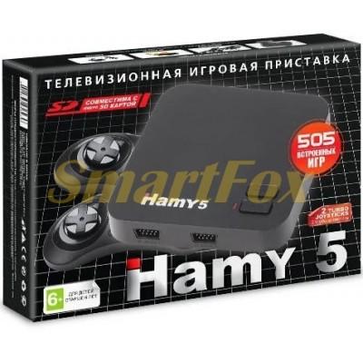 Игровая приставка 8-bit + 16-bit Hamy 5 (505 встроенных игр)