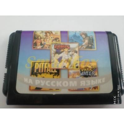 Картридж 16-bit Сборник игр 5в1 AB-5007