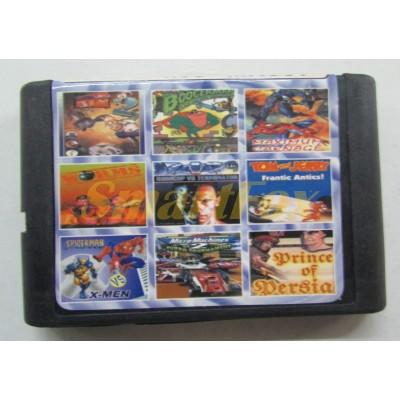 Картридж 16-bit Сборник игр Сега 16 бит MA907