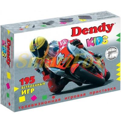 Игровая приставка 8-bit Dendy Kids картридж + световой пистолет(нет памяти)