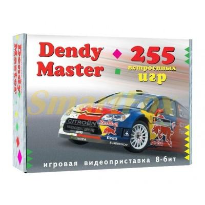 Игровая приставка 8-bit Dendy Master 255 игр