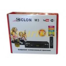 Приставка тв Т2 Ciclon M3 WiFi / USB