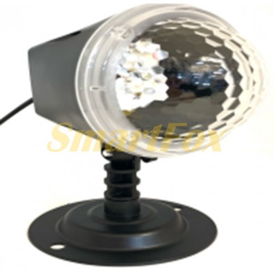 Проектор Ocean Wave Projector Light №10 LED RGB с подставкой (от сети) (без возврата, без обмена)