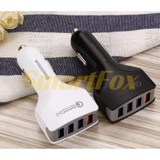 АЗУ 4USB REDDAX RDX-110 Qualcomm Quick Charge 3.0 USB WHITE