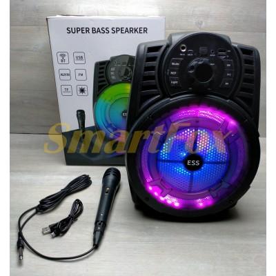 Портативная колонка Bluetooth в виде мини-чемодана ESS-801 34.5см*25см*20см, 8ватт