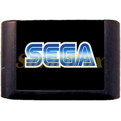 Картридж 16-bit Сборник игр для Sega 9 в 1 (MA-901): Pinocchio + Aladdin + Sonic 3D + Super Mario BR