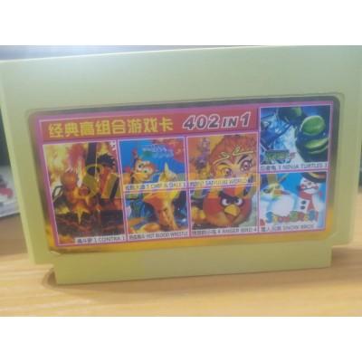 Картридж 8-bit Супер сборник игр для денди 402 в 1