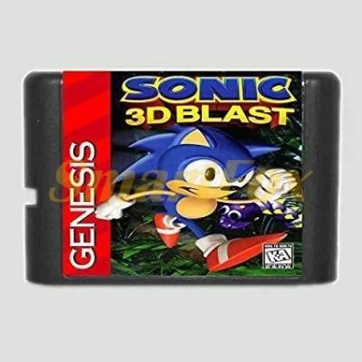 Картридж 16-bit Sonic 3D Blast