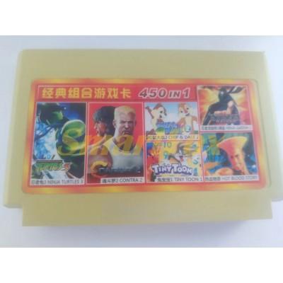 Картридж 8-bit Супер сборник игр для денди 450 в 1
