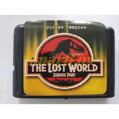 Картридж 16-bit LOST WORLD: JURASSIC PARK