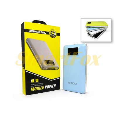 УМБ (Power Bank) MONDAX SC-23M 40000mAh (6000mAh)
