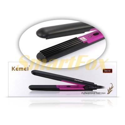 Утюжок гофре для волос Kemei KM-2131-1