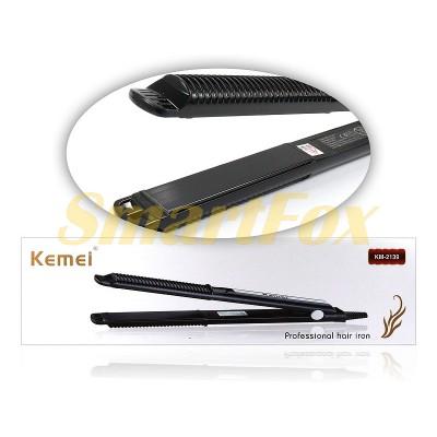 Утюжок гофре для волос Kemei KM-2139