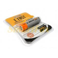 Аккумулятор 18650 E-FAST 4200мАч 3,7В Li-Ion 18650-FST-02