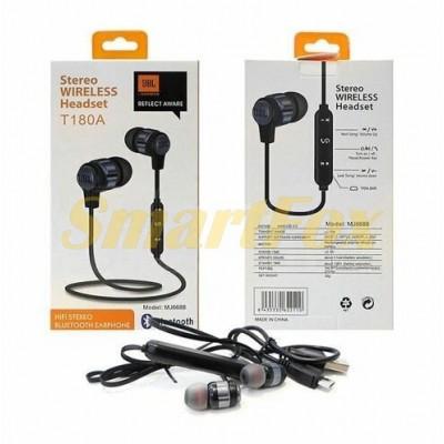 Наушники беспроводные Bluetooth с микрофоном T180A-JBL-BT