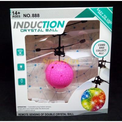 Светящийся летающий шар с сенсорным датчиком и LED подсветкой