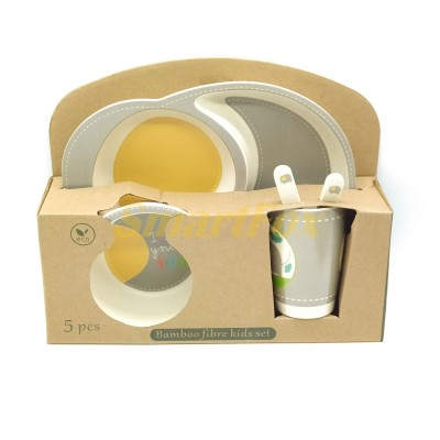 Набор детской посуды (бамбуковое волокно) SL-246-2