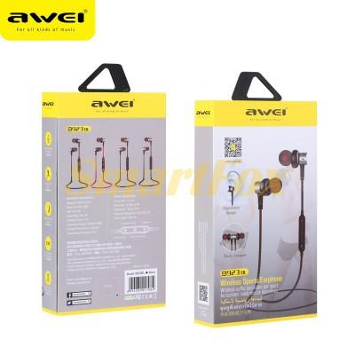 Наушники беспроводные Bluetooth AWEI B923BL