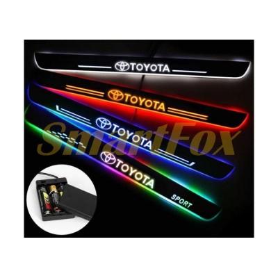 Светодиодный порог для двери Toyota