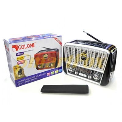 Радиоприемник с USB GOLON RX-456S SOLAR