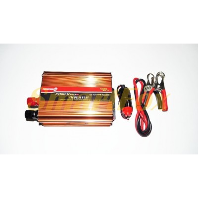 Преобразователь (инвертор) 12V-220V 500W