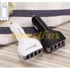 АЗУ 4USB REDDAX RDX-110 Qualcomm Quick Charge 3.0 5G/5S WHITE