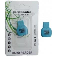 Картридер T-Flash/Micro SD Micro Card Reader ФЛАКОН