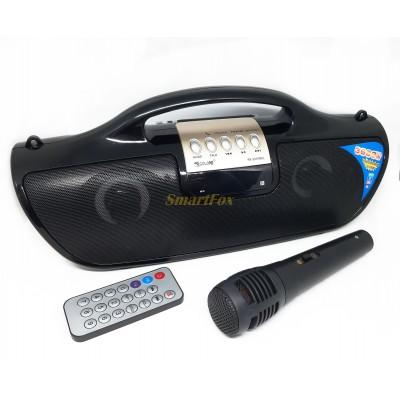 Бумбокс Golon RX 2037 с микрофоном