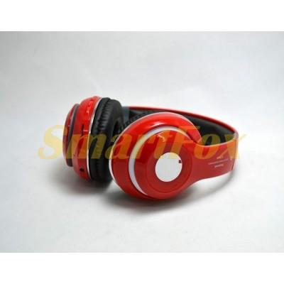 Наушники беспроводные Bluetooth Monster STN-13 Красный