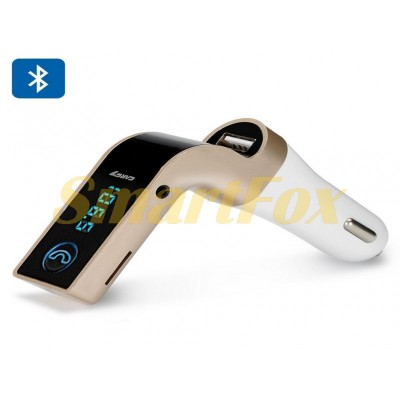 FM-модулятор с Bluetooth и кабелем AUX CARG 7 Elite