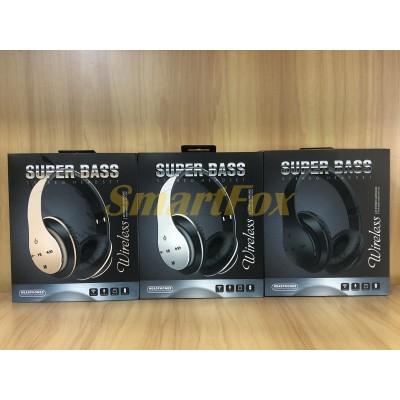 Наушники беспроводные Bluetooth P351 Серебро