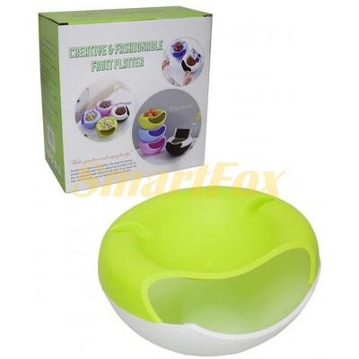 Тарелка для фруктов/орехов/ягод (пластик) SL-1191