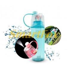 Бутылка для воды SL-DF077 пластик 400мл (без возврата, без обмена)