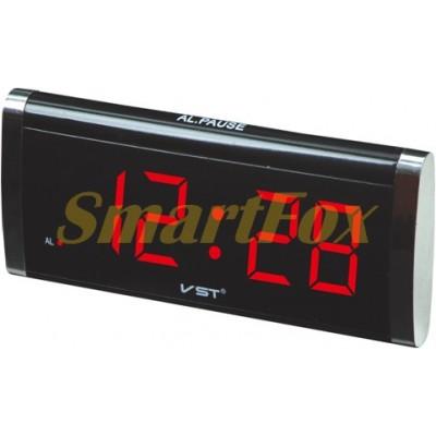 Часы настольные 730-1 красная