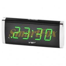 Часы настольные 730-2 зеленая