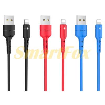 Кабель USB/IPHONE 5 HOCO X30 (1 м)