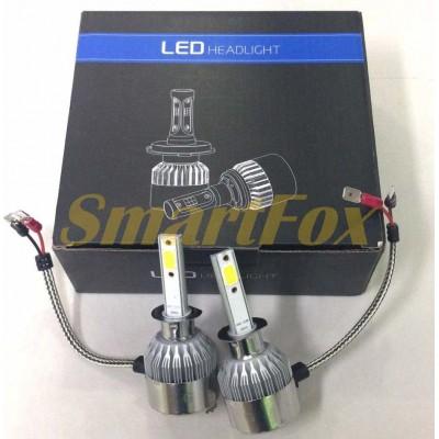 Автомобильные лампы LED C6-H1 (2шт.)