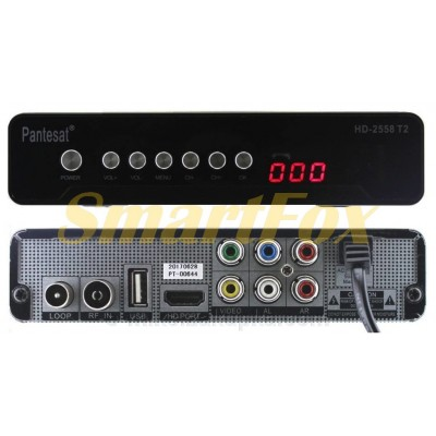 Приставка Т2 цифровая тюнер Pantesat HD-2558